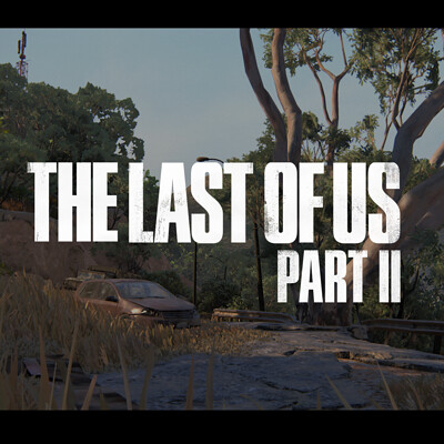 The Last of Us Part 2 - Santa Barbara Hill Road