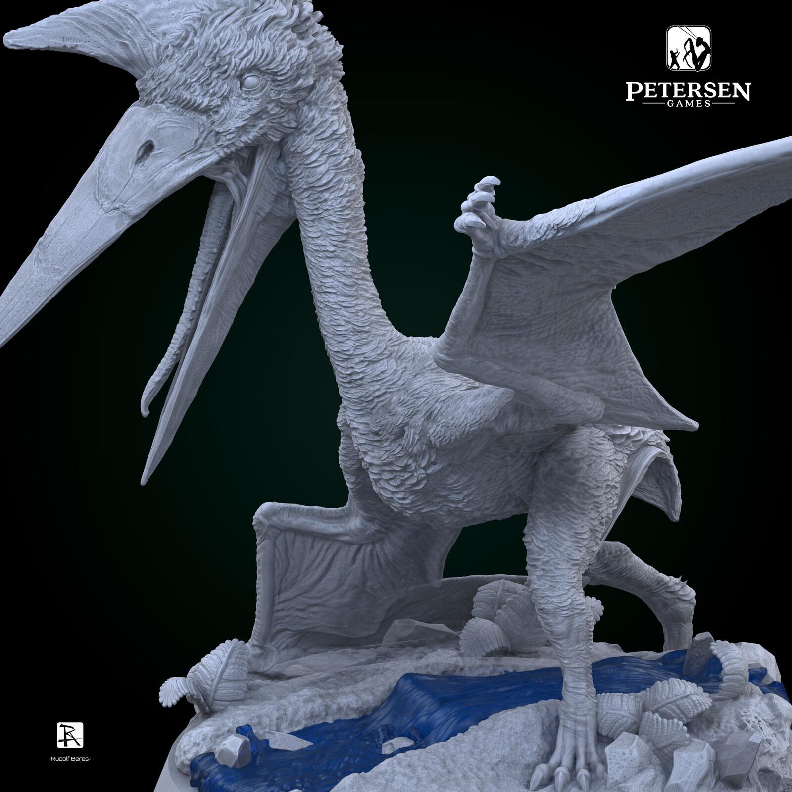 Dinosaur 1944 Sandy Petersen Quetzalcoatlus