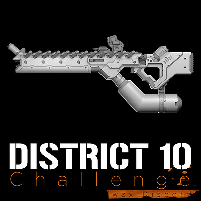 District 10 Challenge - AMR-B5 Assault Rifle