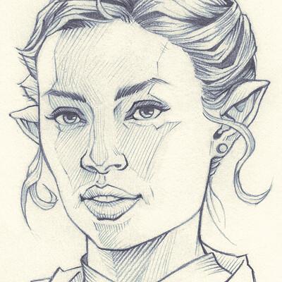 Wendy de boer wendy de boer portrait study003 icon