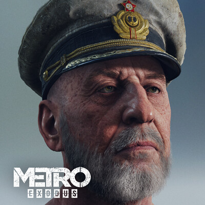 K o r e y b a k o r e y b a captain hex metroexodusdlc2 by oleg koreyba icon 02