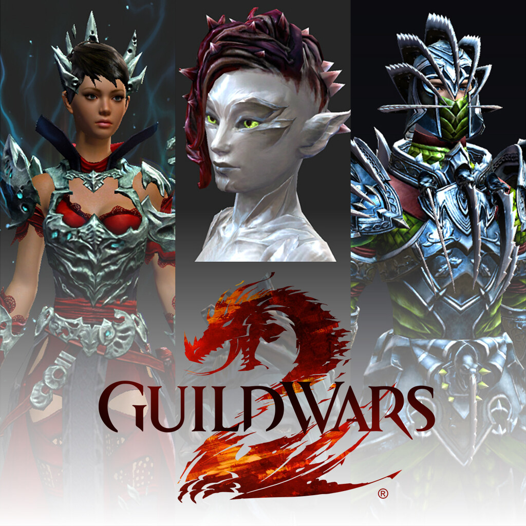 Guild Wars 2 - Hairstyles and Armor