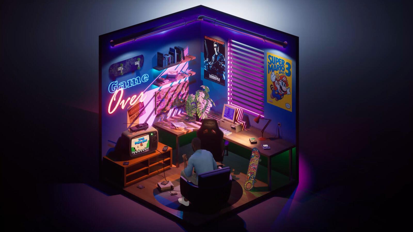 Tiny Gaming Room