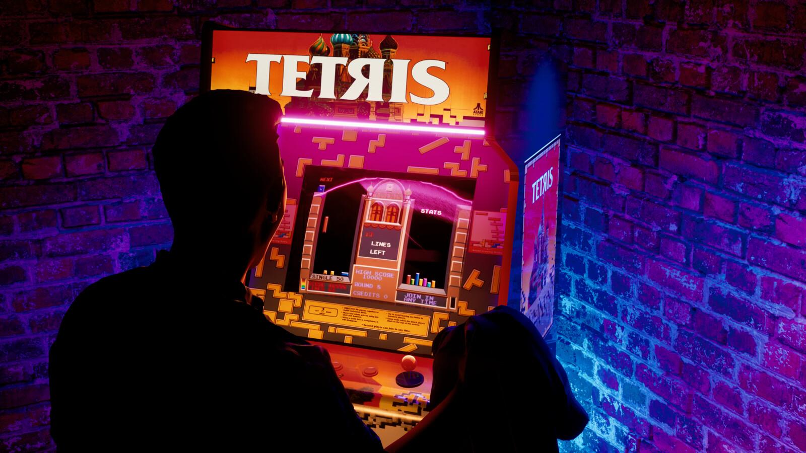 Tetris Arcade Gaming