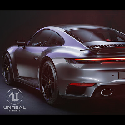 Unreal Engine 4 RTX - Porsche 911 (992) Turbo S 2020