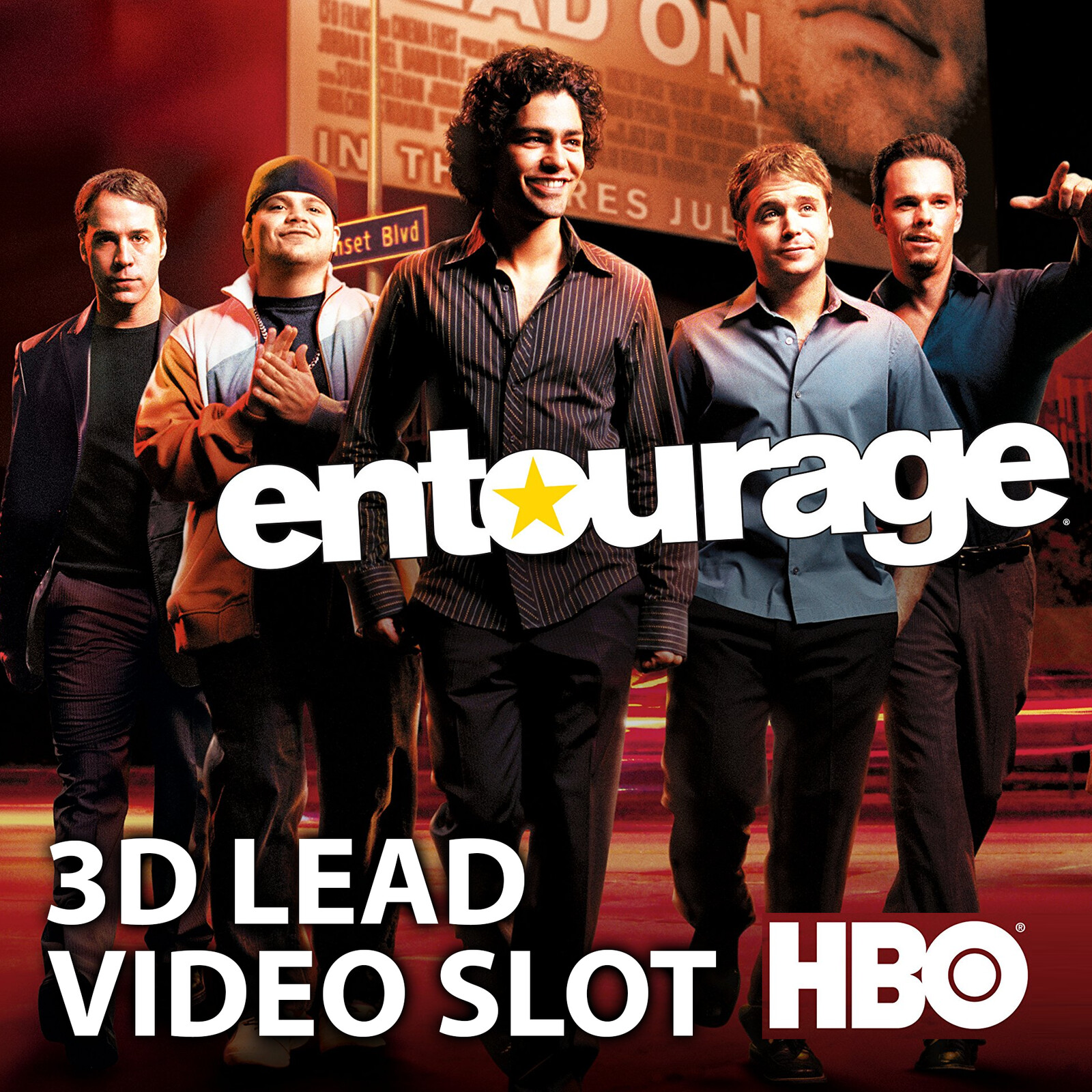 Entourage Slot Machine | IGT | HBO