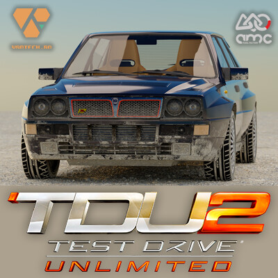 Test Drive Unlimited 2 car: Lancia Delta Integrale EVO 2