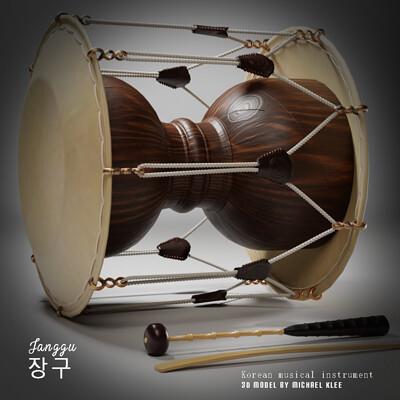 Michael klee michael klee janggu korean musical instrument by michael klee