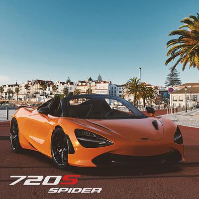 McLaren 720S Spider - Corona Renderer