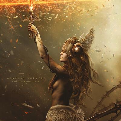 Carlos quevedo celestial warrior lena by carlos quevedo d7a96vg