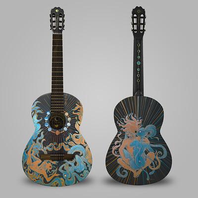Guitar Gods Series Sol y Luna