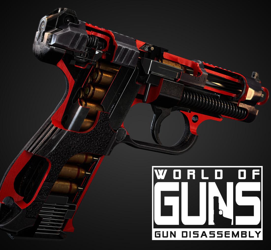 GSh-18 automatic pistol