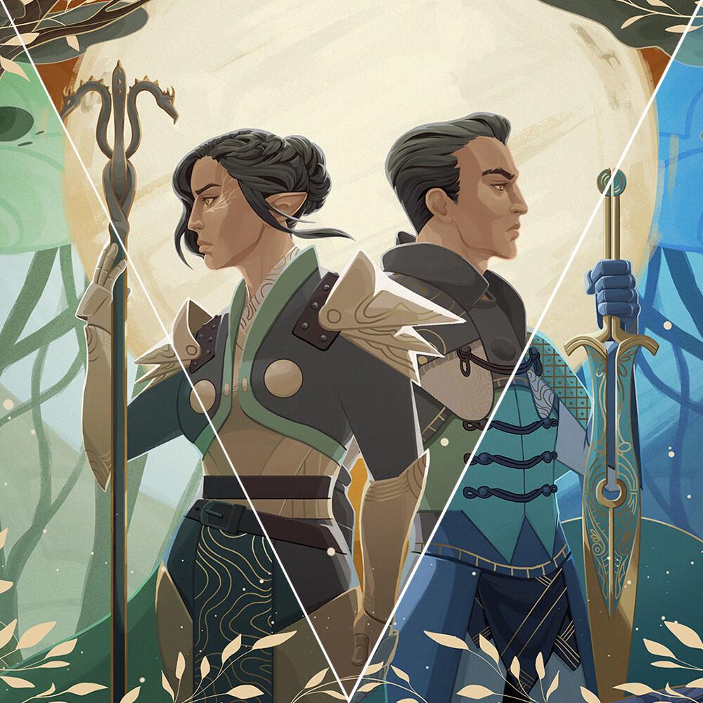 Dragon Age Fanart Commission