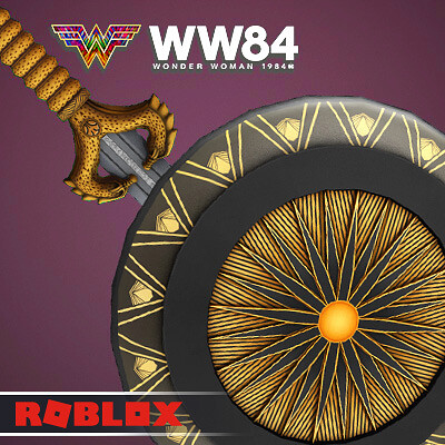 Wonder Woman '84 Sword and Shield Roblox