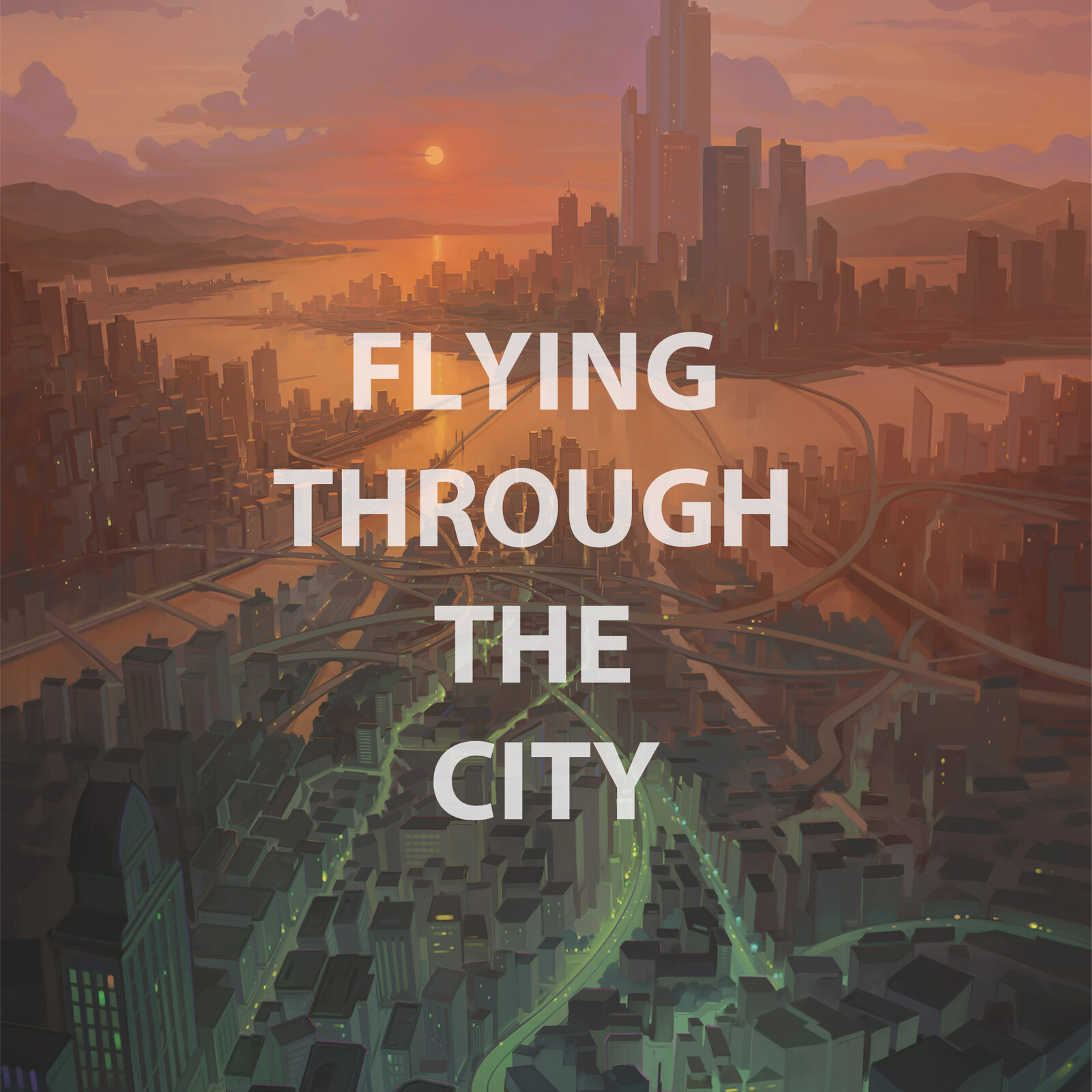 Flying Through the City