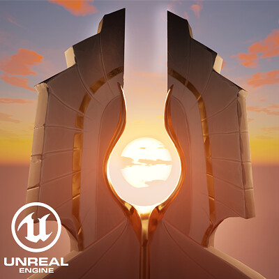 UE4 | Egyptian Unreal Tournament map Lighting