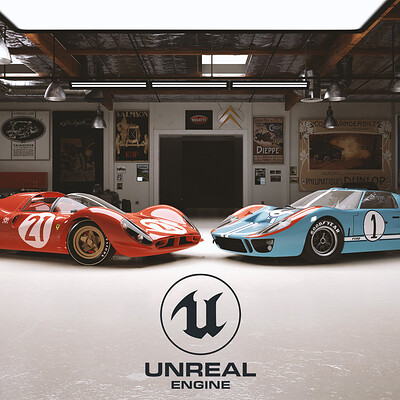 Unreal Engine - Ford v Ferrari