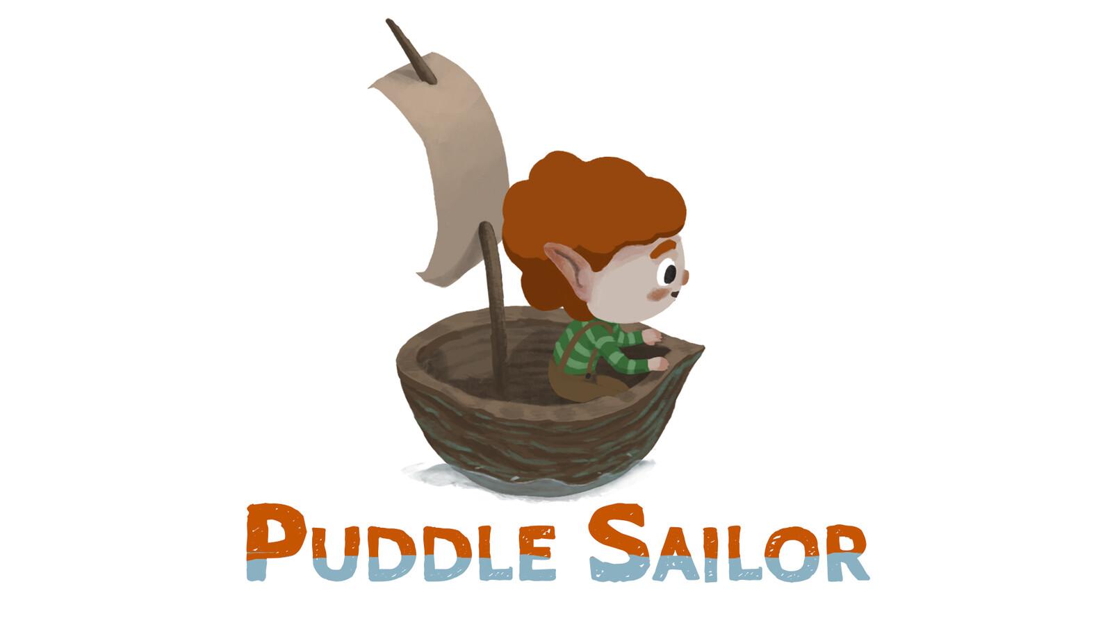 Puddle Sailor 2D art
