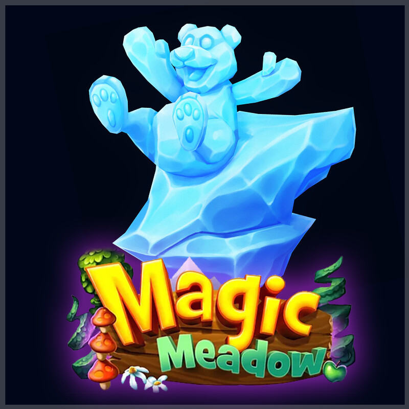 Magic Meadow - Ice Sculptures