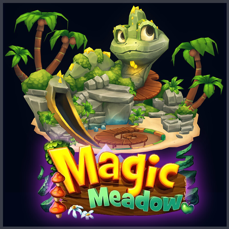 Magic Meadow - Chameleon Jungle