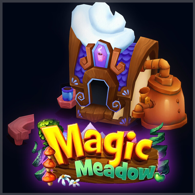 Magic Meadow - Cocoa Hut