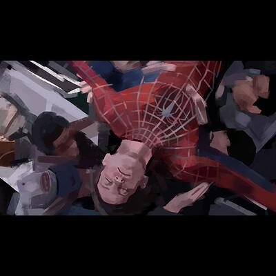 Spider-Man 2 Paint Study (Sam Raimis Spider-man)