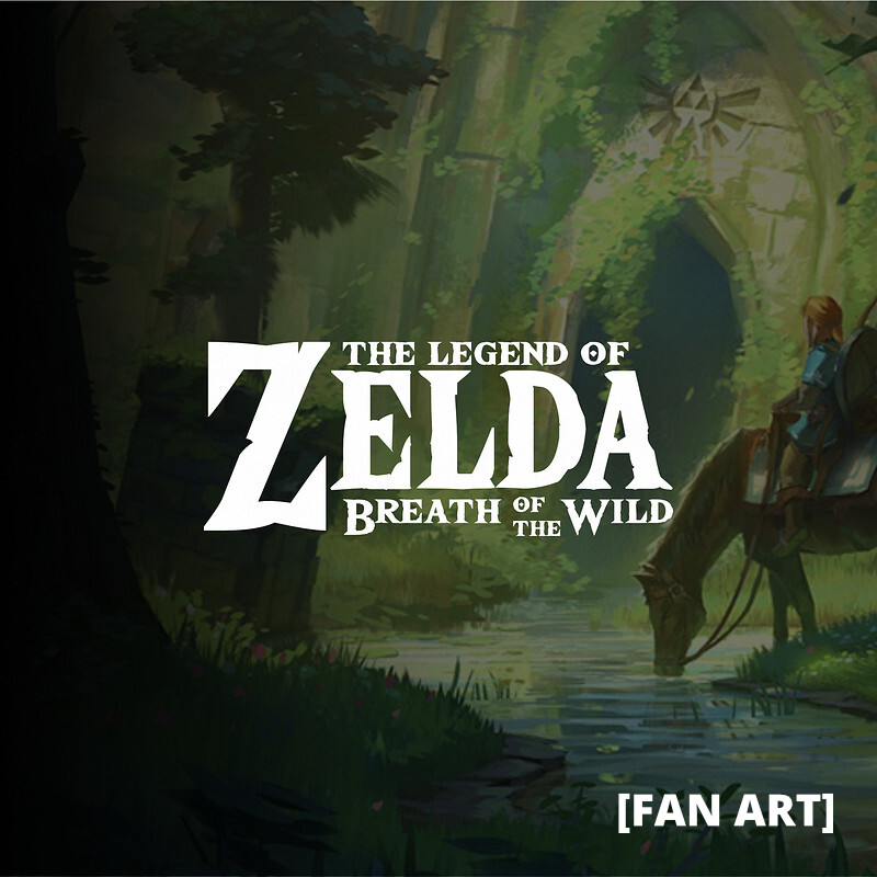 [FAN ART] Zelda Breath of the Wild