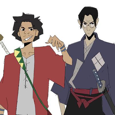Mugen n Jin ( samurai champloo )