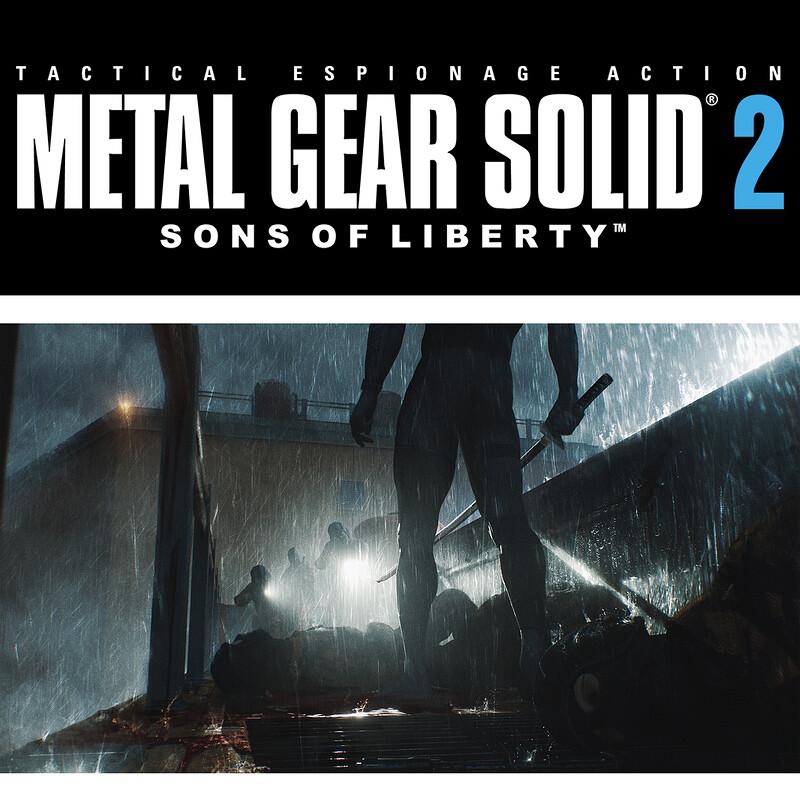 Metal Gear Solid 2 Fanart Part 2