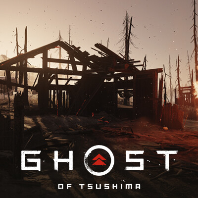Ghost of Tsushima || Burnt Architecture