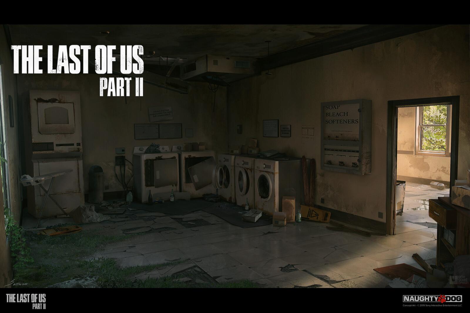 The Last of Us: Part 2 Boutique-Motel Laundry