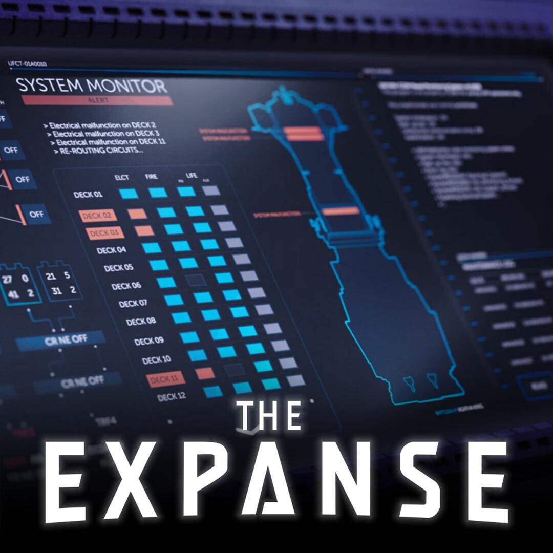 The Expanse: Agatha King UI