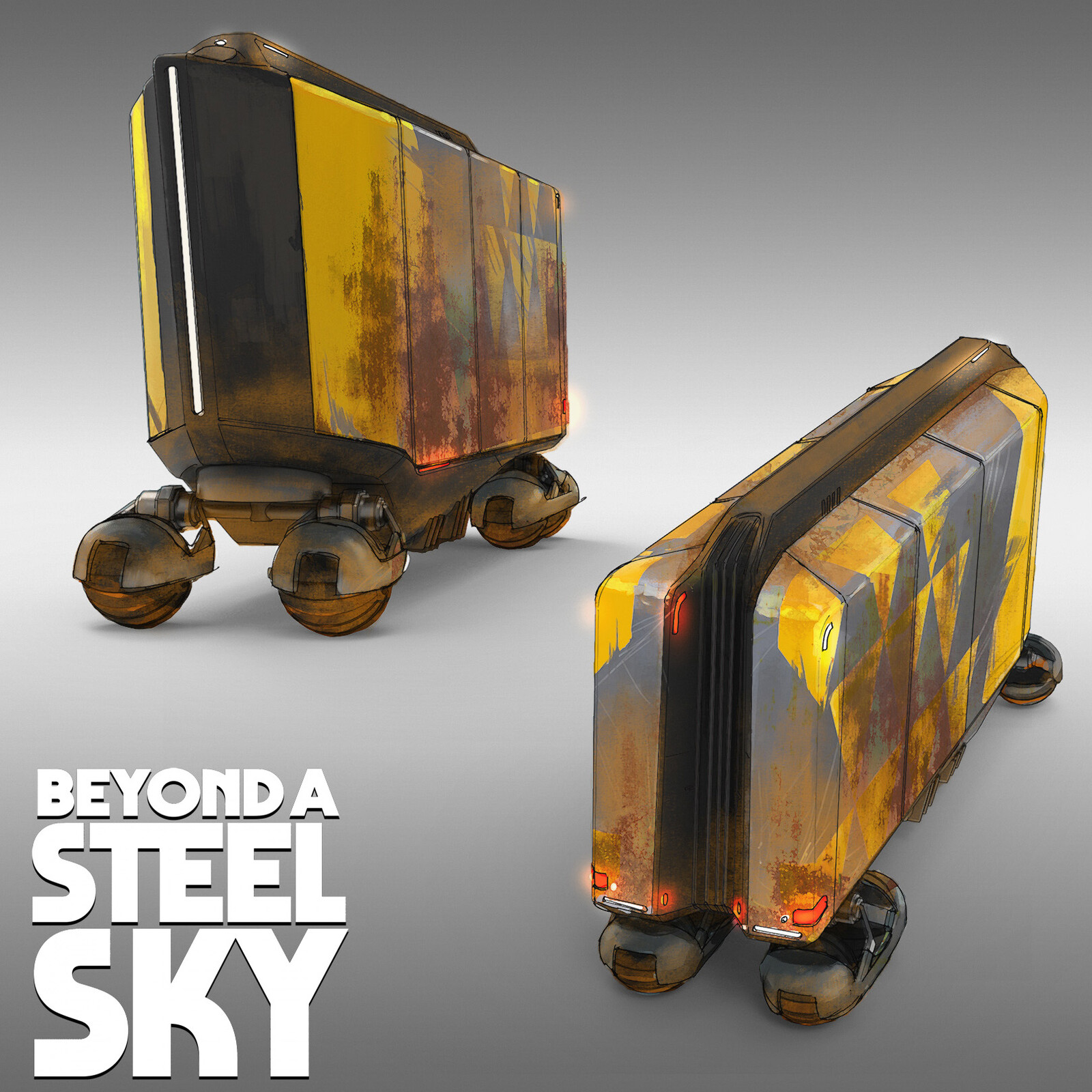 BEYOND A STEEL SKY: Land Train
