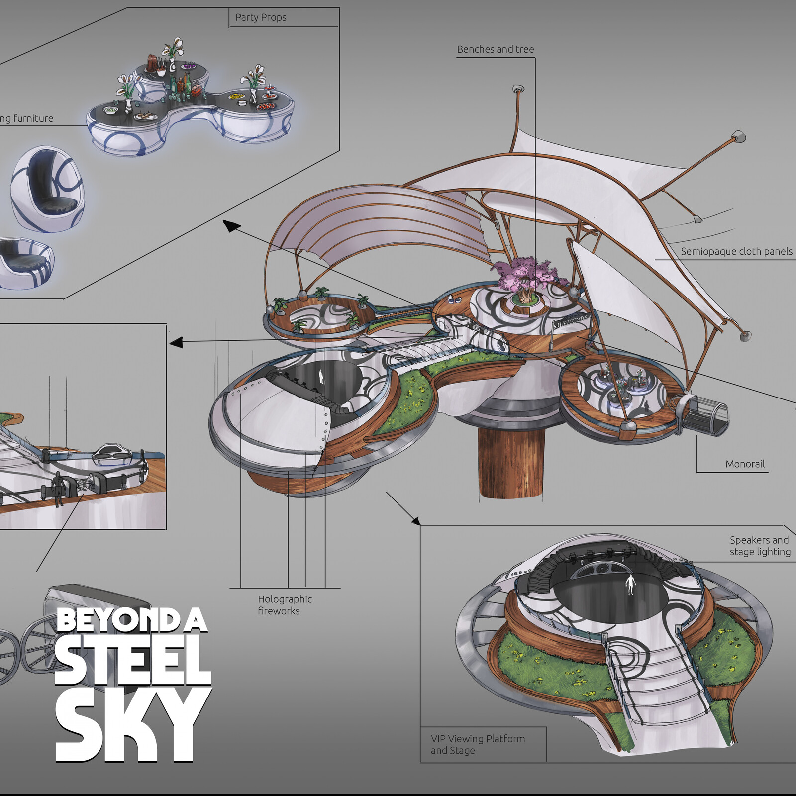 BEYOND A STEEL SKY: Aspiration Platform