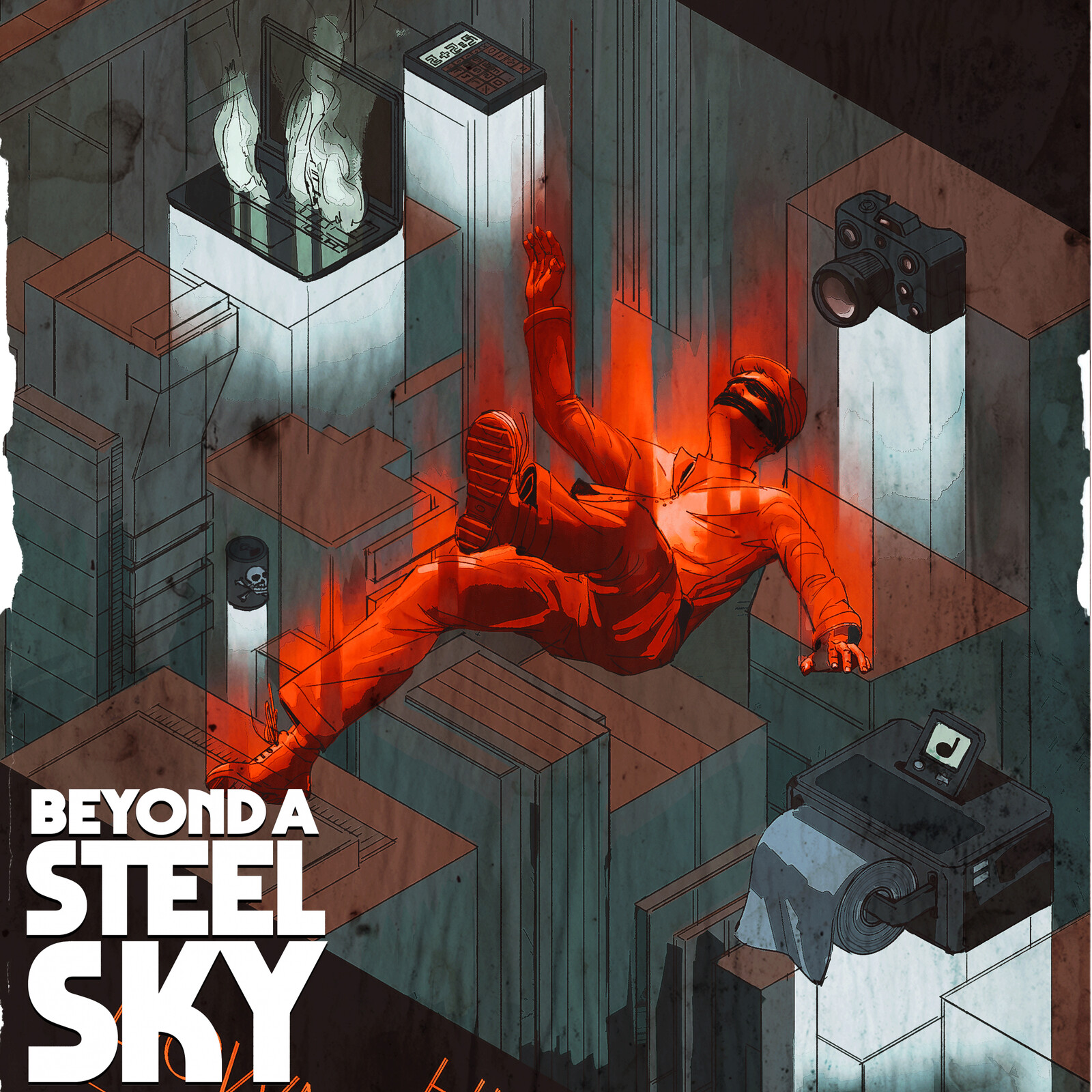 BEYOND A STEEL SKY: Graham's posters