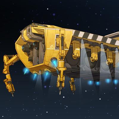 Asteroid Ore Miner