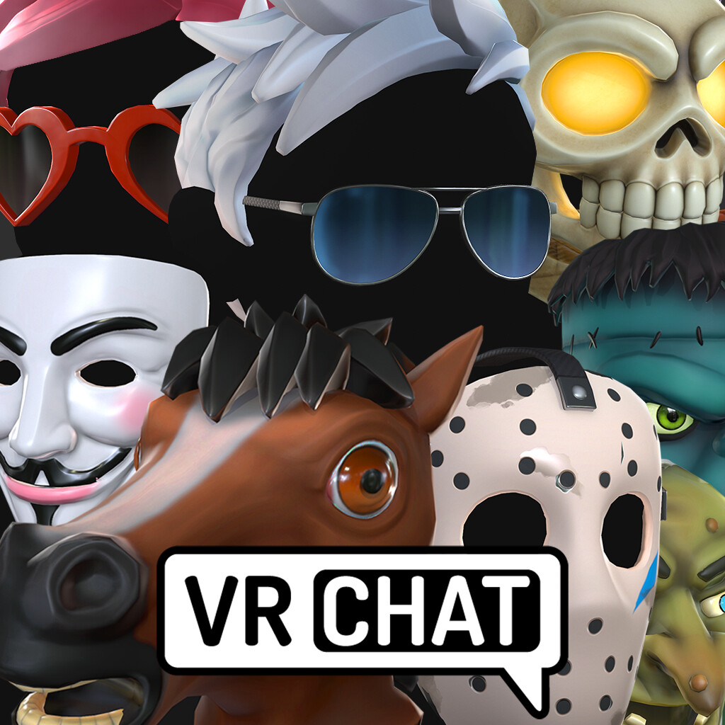VR Chat accessories items