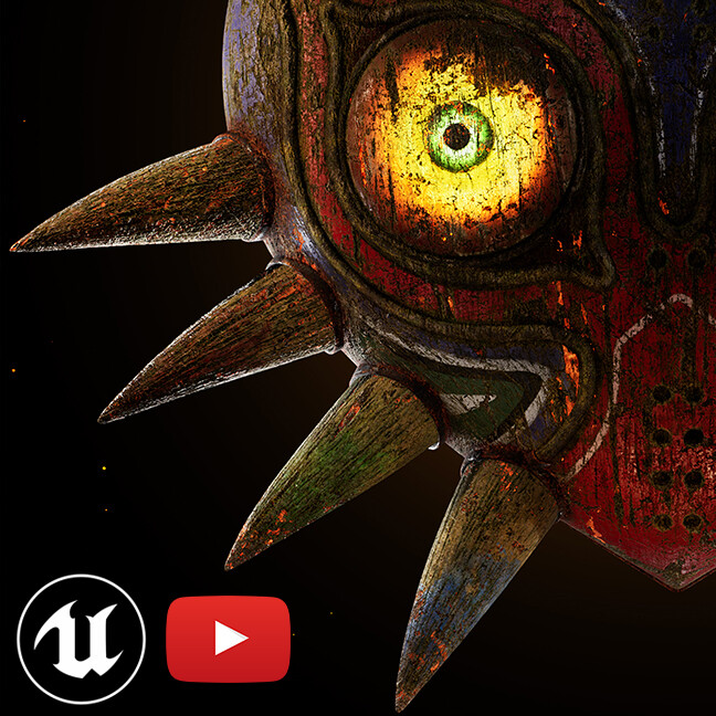 Majora's Mask Closeups [UE4]