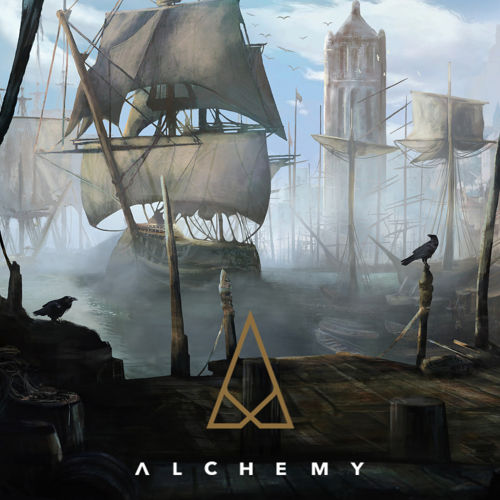 Port (Morning version) - Alchemy RPG