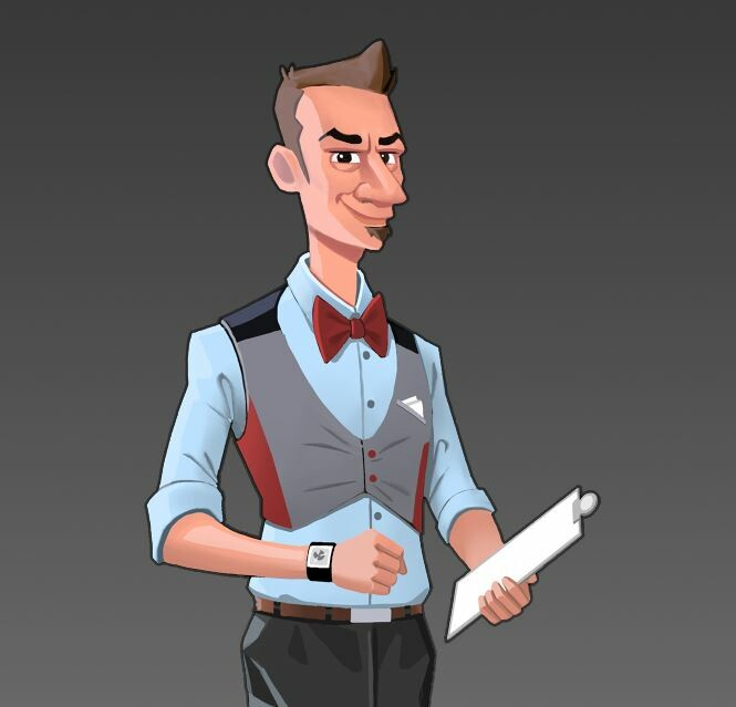 Mayor's Assistant Concept Art
