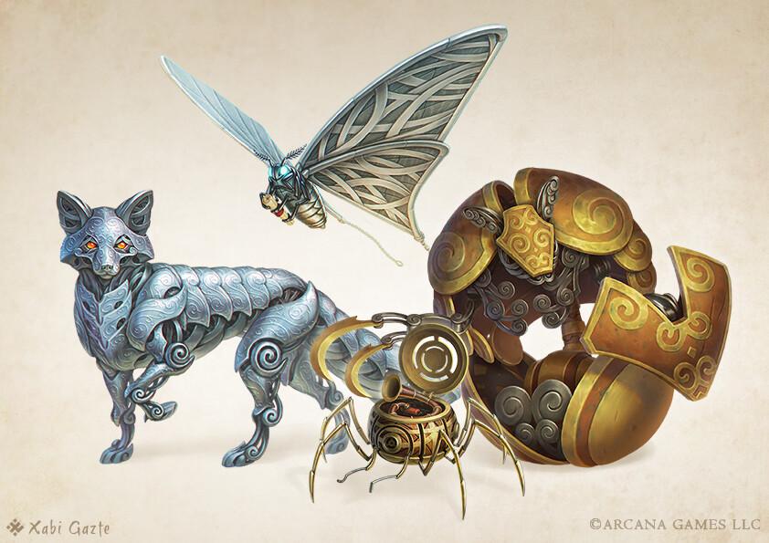 [Fantasy Familiars] - Mechanical