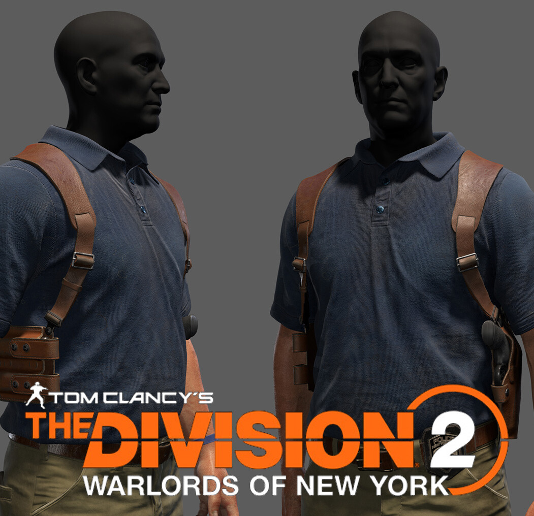 Tom Clancy's The Division 2 Warlords of New York Characters : Roy Benitez