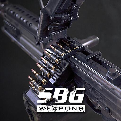 Light Machine Gun Cal. 5.56mm