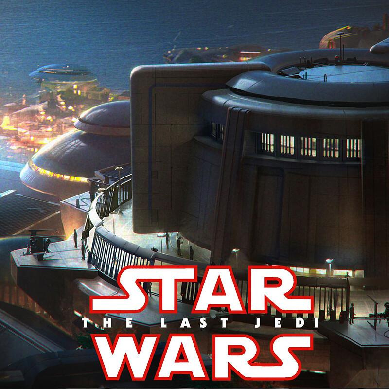 Star Wars: The Last Jedi - Canto Bight Designs