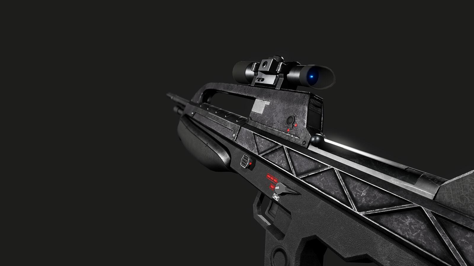 BR55HB Battle Rifle