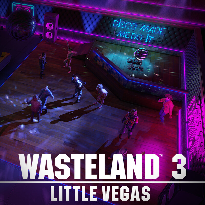 Wasteland 3 Environment Art - Little Vegas