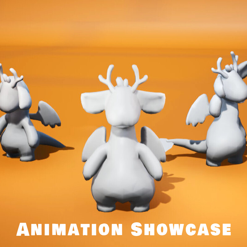 Dragon Animations Showcase   Heads n Tails: Mythical Petshop