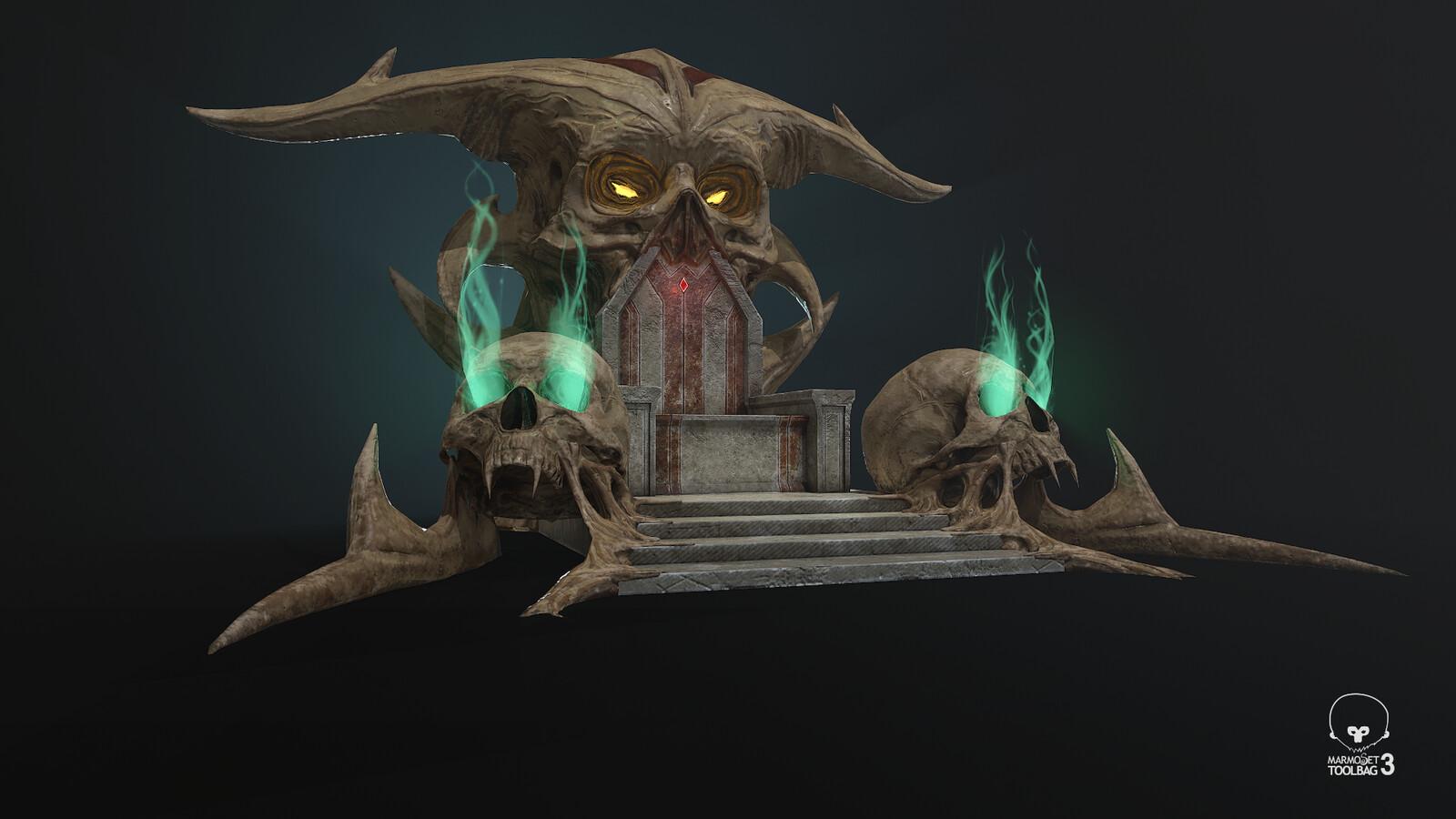 Throne Asset
