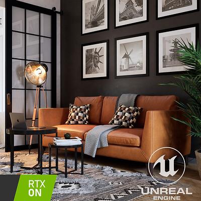 Unreal Engine - NYC Artist Loft