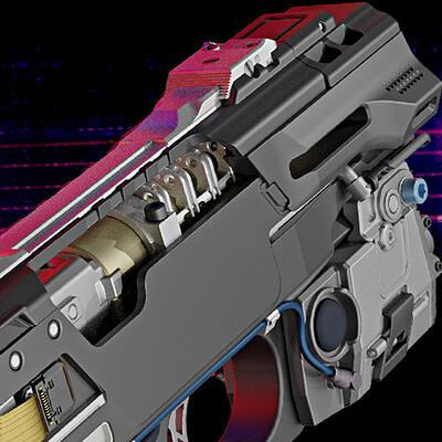 TexTech Smart Pistol - .45 cal AP (WIP)